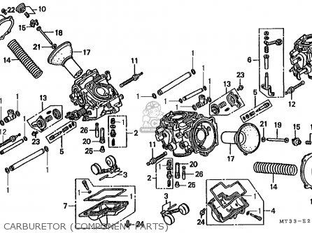 Honda St1100 Paneuropean 1991 m Austria   Kph Carburetor component Parts