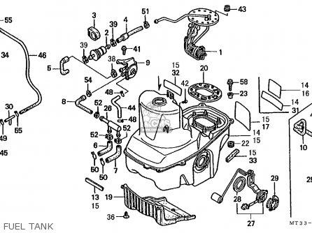 Honda St1100 Paneuropean 1991 m Austria   Kph Fuel Tank