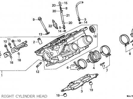 honda st1100 paneuropean 1995 (s) england parts lists and schematicshonda st1100 paneuropean 1995 (s) england right cylinder head