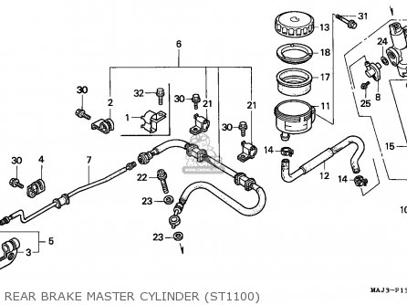 Wiring Diagram For Honda Vt1100c Headlight