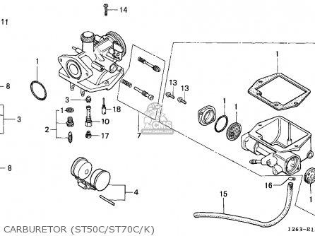 honda st70 dax 1989 k spain parts list partsmanual. Black Bedroom Furniture Sets. Home Design Ideas