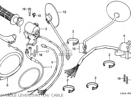Honda Cg125 Engine Schematic also Ktm 250 And 525 Sx Mxc Exc Electrical System 2000 2003 likewise 1964 Honda Ct200 Carburetor Diagram likewise 1970 Honda Sl100 Wiring Schematic besides Wiring Diagram Honda Gxv390. on honda c70 wiring diagram