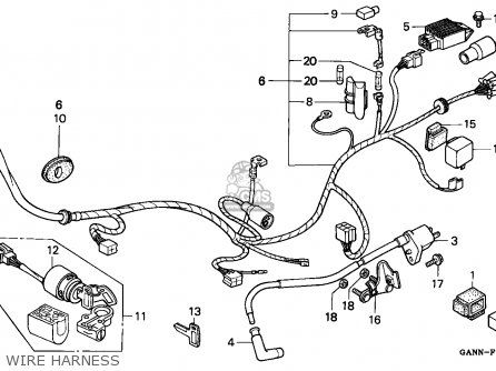 honda st70 dax 1996 t france parts list partsmanual. Black Bedroom Furniture Sets. Home Design Ideas