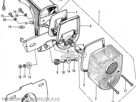 honda st70k3 dax france parts lists and schematics. Black Bedroom Furniture Sets. Home Design Ideas