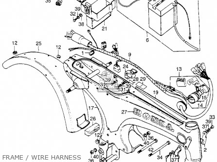 Partslist likewise 1994 Honda Ct70 Wiring Diagram also Partslist furthermore  on honda dax wiring harness
