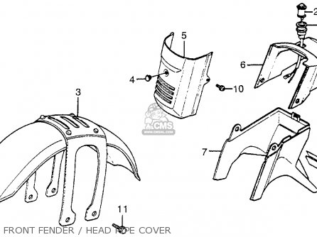 Honda Tg50 Gyro S 1986 G Usa Parts Lists And Schematics