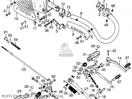 honda tl125 trials 1973 k0 usa parts list partsmanual. Black Bedroom Furniture Sets. Home Design Ideas