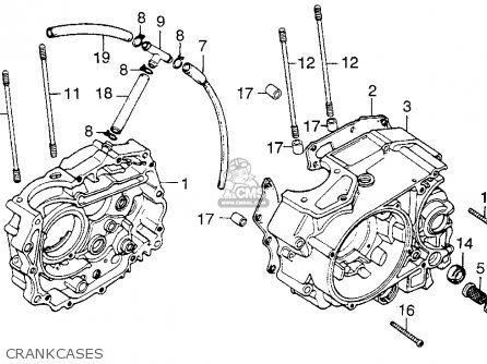 honda 5 wire cdi 125 wiring diagram honda tl 125 wiring diagram honda tl125s trials 1976 usa parts list partsmanual partsfiche #13