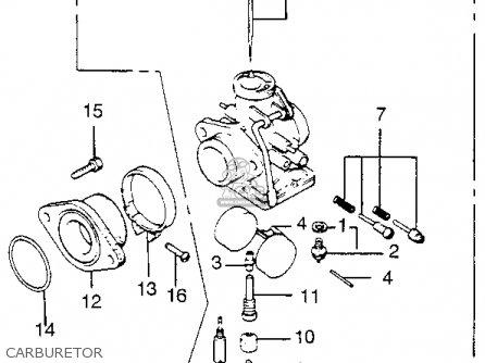 Honda Tl250 Trials K0 1975 Usa Carburetor