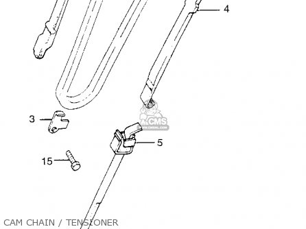 Honda Tl250 Trials K0 Usa Cam Chain   Tensioner