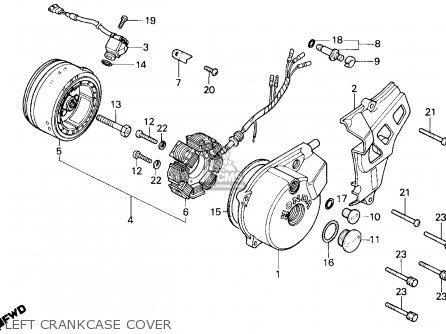 Honda Tlr200 Reflex 1986 G Usa California Parts Lists And Schematics