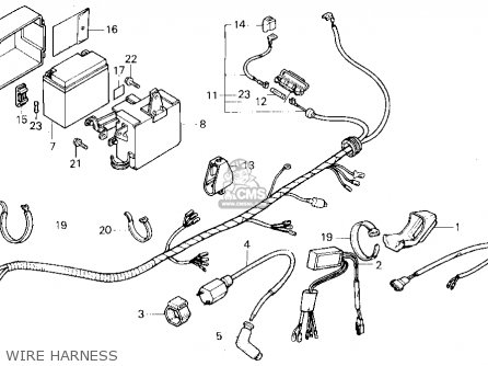 Honda Tlr200    Reflex    1986  g  Usa California parts list