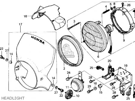 Honda 200 Motorcycle Wiring Diagram on honda fourtrax 200 parts