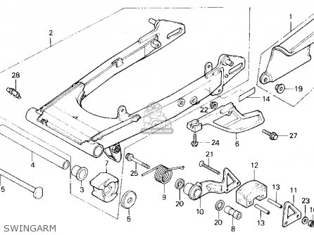 honda tlr200 reflex 1987 h usa california parts lists. Black Bedroom Furniture Sets. Home Design Ideas