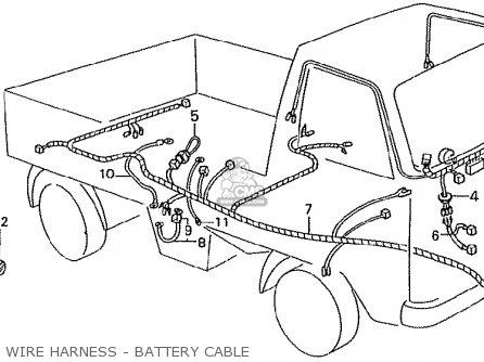 Honda Tn360k3 Tn7 Rh Drive Kmh Type Kq Parts Lists And Schematics