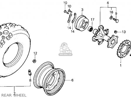 Honda Tr200 Carburetor on wiring diagram honda xr200