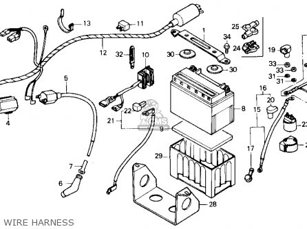 Honda Fourtrax 300 Wiring Harness Diagram
