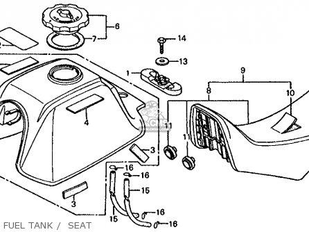 Color Wire Diagram For A Trx 125 Honda 1985
