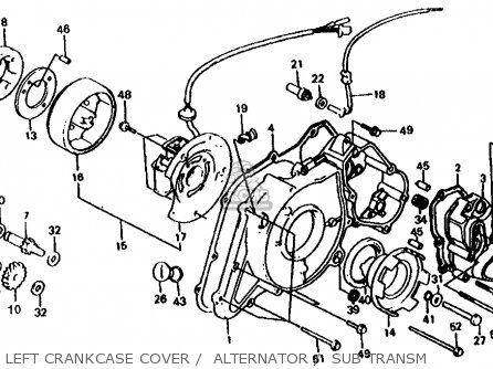 Honda Trx 125 Diagram