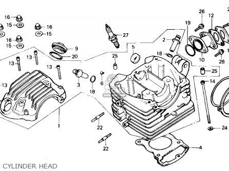 honda trx125 fourtrax 125 1987 (h) usa parts lists and honda 125 quad honda trx 125 wiring diagram #7
