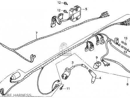 Honda Trx200d 1996 T Usa Parts Lists And Schematics