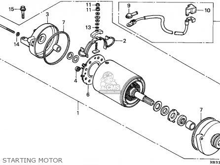 1986 Honda Trx200sx Parts