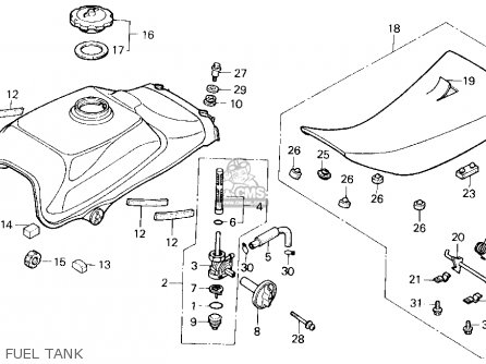 honda trx200sx fourtrax 200sx 1986 usa carburetor schematic wire rh linxglobal co honda fourtrax 200sx wiring diagram 1987 honda 200sx wiring diagram