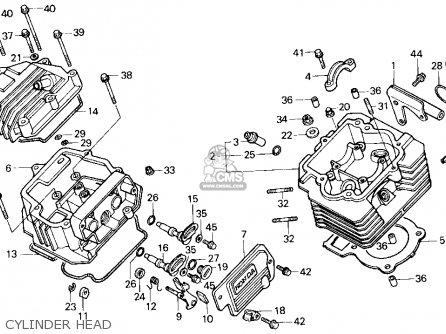 1988 honda fourtrax 200sx parts