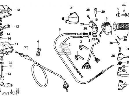 Honda Trx200sx Fourtrax 200sx 1988 j Usa Switch