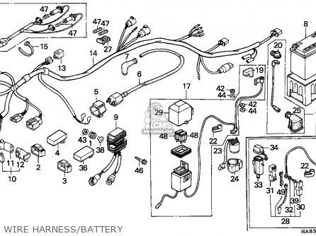 1986 Honda Fourtrax Wiring Diagram in addition Honda Fourtrax 300 Wiring Diagram further Honda 300 Fourtrax Rear End Diagram besides Honda Xl 250 Wiring Diagram moreover Honda Helix Fuel Filter. on 1987 honda trx 250 wiring diagram