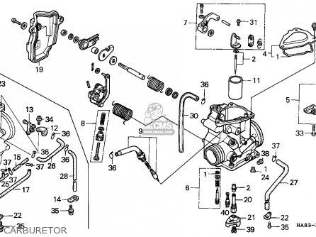 Honda 250ex Parts