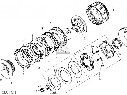 Honda Trx250 Fourtrax 250 1985 Usa Right Crankcase Cover Schematic