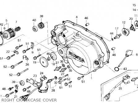 Honda Trx250 Fourtrax 250 1985 F Usa Parts Lists And Schematics