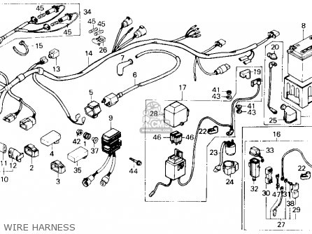 Trx250x Wiring Diagram