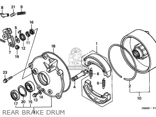 1998 Honda Foreman 450 Es Wiring Diagram as well Honda Xr80 Carburetor Diagram as well 1996 Honda Rebel 250 Wiring Diagram further Partslist in addition Partslist. on honda recon wire harness
