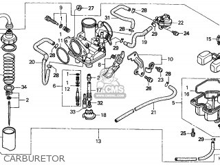 wiring diagram for yamaha warrior 1700 honda trx250 recon 1999  x  australia th parts lists and  honda trx250 recon 1999  x  australia th parts lists and