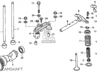 Honda Recon Carburetor Diagram With Parts List