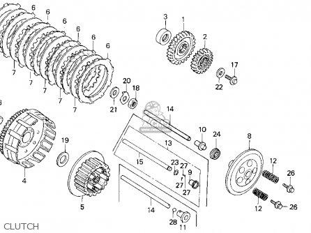 honda trx250r fourtrax 250r 1986 g usa parts lists and schematics rh cmsnl com 1985 honda fourtrax 250 wiring diagram wiring diagram for 1986 honda trx250