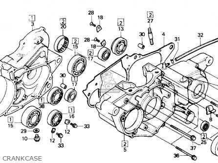 Honda TRX250R FOURTRAX 250R 1986 (G) USA parts lists and ...
