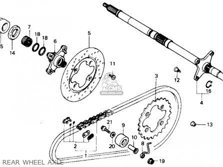 1986 Honda Elite 80 Wiring Diagram: 2006 Honda 250 Axle Diagram At Mazhai.net