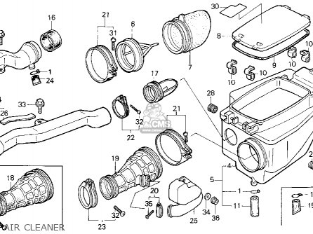 Honda 400ex Carburetor Diagram