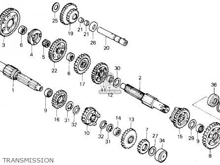 honda trx250x fourtrax 250x 1987 h usa transmission_mediumhu0257e1100_d55c honda trx250x fourtrax 250x 1987 (h) usa parts lists and schematics