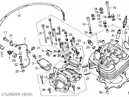[DIAGRAM_38ZD]  Honda TRX250X FOURTRAX 250X 1991 (M) USA parts lists and schematics | Honda 300ex Engine Diagram |  | Cmsnl.com