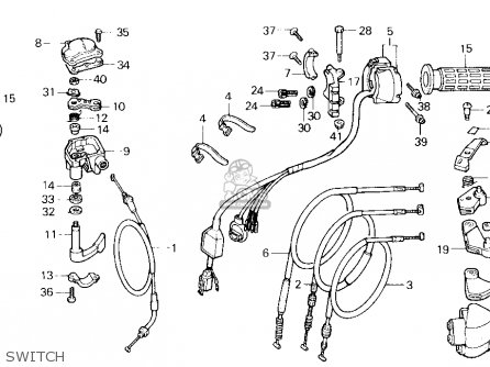 coils for honda cb750 wiring diagram honda xr50r wiring diagram honda trx250x fourtrax 250x 1991 usa parts list ...