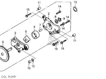 Honda Trx250x Fourtrax 250x 1992 n Usa Oil Pump