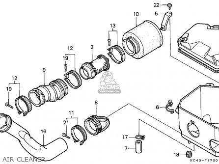 Honda Trx300 Fourtrax 1989 K Canada Parts Lists And Schematics