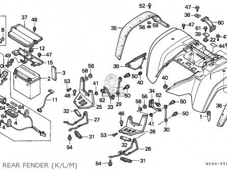 Honda 110 Atv Wiring Diagram