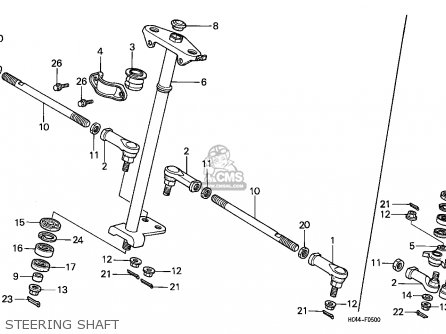 1990 Honda Fourtrax Wiring Diagram