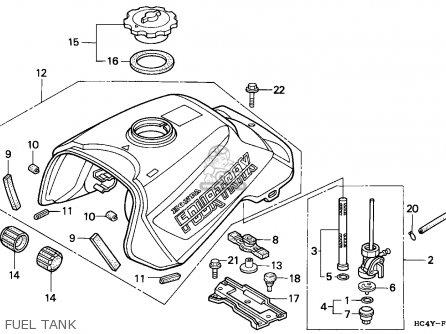 honda fourtrax fuel system