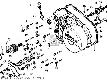 honda trx300 fourtrax 300 1988 j usa parts lists and schematics rh cmsnl com honda fourtrax 300 rear brake diagram honda fourtrax 300 wiring diagram